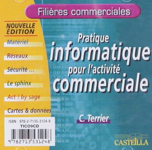 Pratique informatique pour l'activité commerciale : CD-ROM