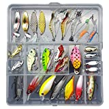 Bait Set Mix 6 Attrezzatura da Pesca Esca Esca Finta Esca Rigida Rana Esca Esca Morbida Esca da Pesca Mista Minorua Pinza (Color : F)