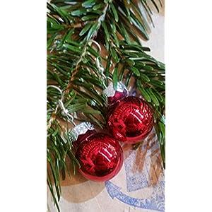 Weihnachtsohrhänger in ROT glänzend - der Topseller vom Hamburger Weihnachtsmarkt!