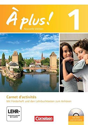 Preisvergleich Produktbild À plus. Französisch für Gymnasien, Teil 1: Carnet d'activités (inkl. 1 DVD-ROM )