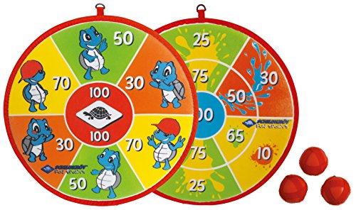 Schildkröt Funsports Soft Dart Set inklusive 2x3 Klett-Bälle ideal für Kinder im Blister, 970140