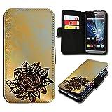 Book Style Wiko Fizz Premium PU-Leder Tasche Flip Brieftasche Handy Hülle mit Kartenfächer für Wiko Fizz - Design Flip SV70