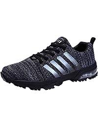 premium selection bd23f 7625c Homme Femme Chaussures de Sport Respirantes Plein Air Sneaker Running Shoes  pour Trail Entraînement Course Gym
