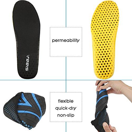 Tauchschuhe/ Strandschuhe/ Aquaschuhe/ Surfschuhe Schnelltrockn für Herren und Damen Blau