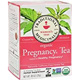 16 BAG : Traditional Medicinals Organic Pregnancy Tea - Caffeine Free - 16 Bags