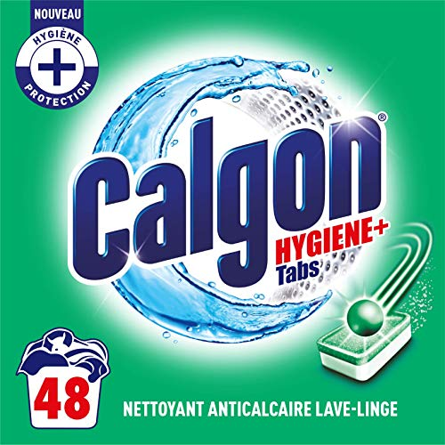 Calgon Anti-Kalk-Tabs Hygiene Plus, 48 Stück