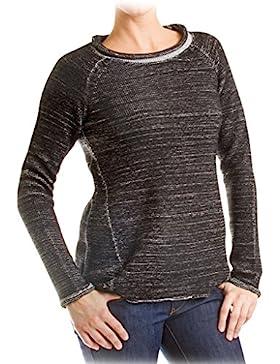 Carrera Jeans - Suéter 872L0241X para mujer, estilo asimétrico, ajuste regular, manga larga