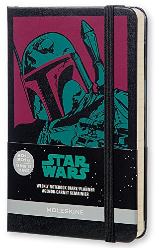 Star Wars 2016 Moleskine Star Wars Limited Edition Pocket 18 Month Weekly Notebook Hard