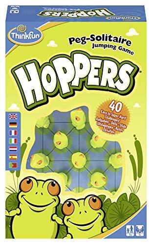 Think Fun- Hoppers Juego Habilidad Ravensburger 76347