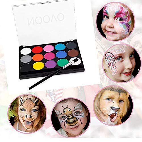 Noovo Halloween Schminke Make up Kit Hexe Zombie Clown Schminken