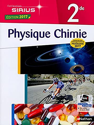 Livre Physique Chimie - Physique-Chimie 2de - conforme aux aménagements de