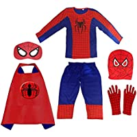 TPD Superhero Costumes Birthday Gift for Kids(Plz see the size in dropdown list)