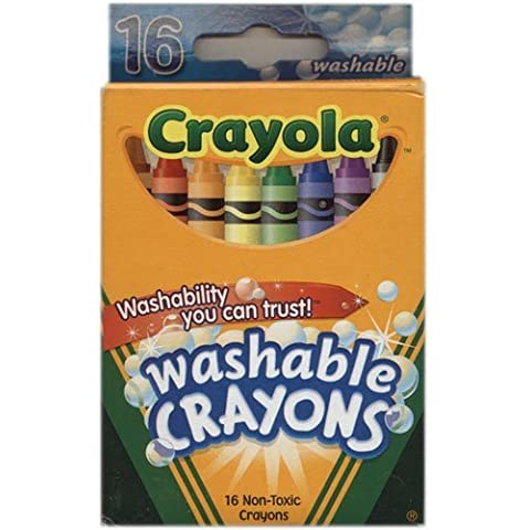 Crayola Washable Crayons 16 per box (2 Pack) [Personal Care] by Binney & Smith