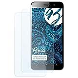 Bruni Schutzfolie für Huawei Honor 4C Folie, glasklare Bildschirmschutzfolie (2X)