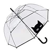 Susino Cat Dome Umbrella Stick, 85 cm, Black