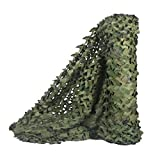 Malla de camuflaje militar de Sitong para decorar, camufar y dar sombra, Woodland, 1.5Mx20M(4.9ftx65.6ft)