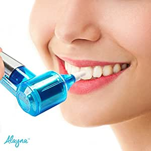 Professional Strength Tooth Polisher & Whitener by Alayna, Removes Surface Stains