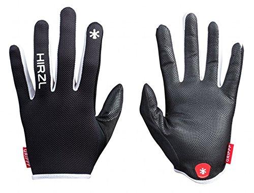 HIRZL Grippp Light FF (White/Black, 9) (Handschuhe Light Black White)