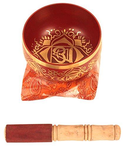 1stChakraMuladharaoderRootrotbuddhistischeKlangschalefürMeditation, 12,7cm