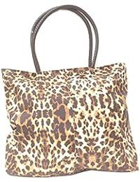 DIETZ Shopper Tasche in Leo-Optik 46x43x3cm