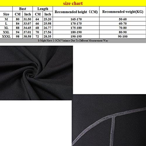 Zhhlaixing Buona qualità Men's Vests Singlet Gym Training Tank Top Sleeveless Tee Shirts Gray