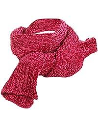 132f51bc799d Mode Femme Écharpe en Tricot,Classique d hiver Chaud Couleur unie Châle  Douce Longue Foulards en Laine…