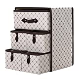 OUNONA Stoffbox für Schrank oder Schublade, 5er Set – die ideale Aufbewahrungsbox (Stoff) – flexibel verwendbare Stoffkiste