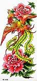 SPESTYLE wasserdicht ungiftig temporäre Tätowierung stickerstemporary wasserdicht Tattoos sexy phoenix Blumen Schönheit Zustrom von Waren