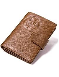 aa9ce5b26 LZHA Titular De La Tarjeta De Pasaporte Titular De La Tarjeta De Crédito  Monedero De Cuero