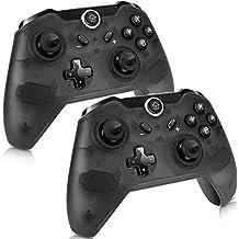 2Pcs Manette pour Nintendo Switch, Switch Pro Sans Fil Contrôleur, Wireless Bluetooth Gamepad Controller
