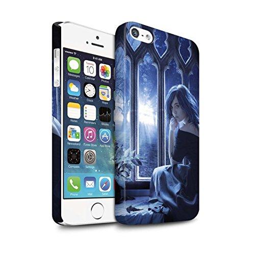 Officiel Elena Dudina Coque / Clipser Matte Etui pour Apple iPhone SE / Feuilles séchées Design / Art Amour Collection Feuilles séchées