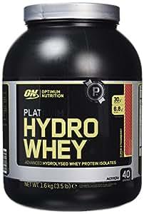 Optimum Nutrition Platinum Hydro Whey Protein Powder, 1.6 kg - Super Strawberry