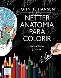 Netter Anatomia para Colorir (Netter Basic Science) (Portuguese Edition)