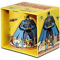 DC Comics - Batman Gotham City Porzellan Tasse - Kaffeebecher - farbig - Lizenziertes Originaldesign - LOGOSHIRT