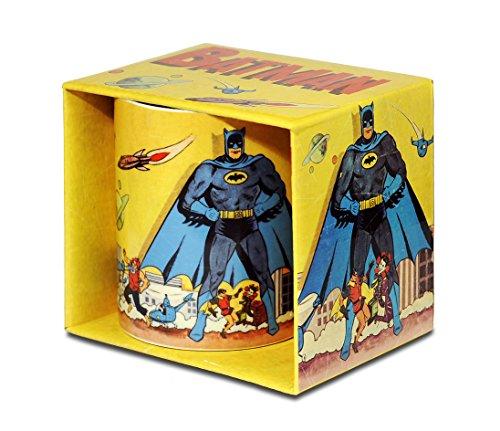 DC Comics - Batman Gotham City Porzellan Tasse - Kaffeebecher - farbig - Lizenziertes Originaldesign...