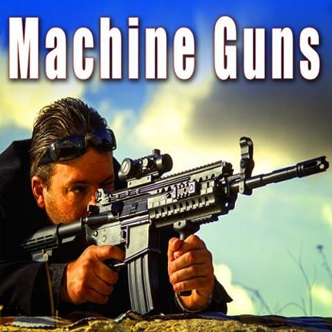 Cock Slide on an Ak-47 Machine Gun