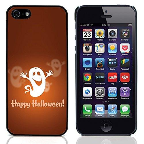Graphic4You Halloween Allerheiligen Thema Gespenst Design Harte Hülle Case Tasche Schutzhülle für Apple iPhone 5 und - Halloween-thema 5 Iphone