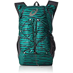 Asics Lightweight Running Mochila, Unisex Adulto, Verde (Jungle Green / Dark Grey), Talla Única