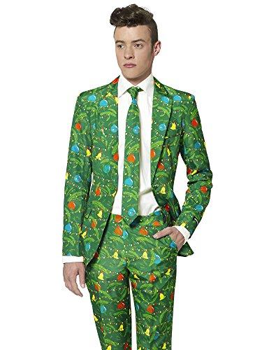 Suitmeister Weihnachtsanzüge für Herren besteht aus Sakko, Hose -