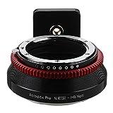 Fotodiox Pro–Adattatore per Nikon Nikkor F Mount G-Type D/SLR lenti a Hasselblad Xcd Mount mirrorless fotocamera digitale sistema