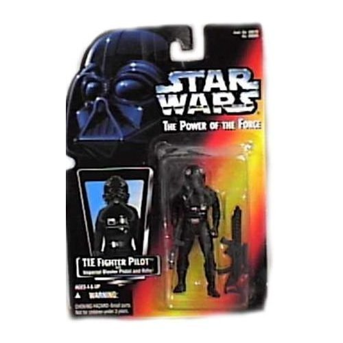 Moc Tie (Star Wars 1995 Power of The Force Red Card TIE Fighter Pilot MOC by Hasbro)