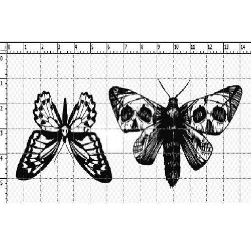 4Pcs Le papillon magnifique Tatouages temporaire imperméable Tatouage bras/nuque