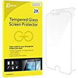 Verre Trempé iPhone 6s/6 Plus, JETech JETech Lot de 2 Film Protection écran pour iPhone 6 Plus et iPhone 6s Plus 5.5