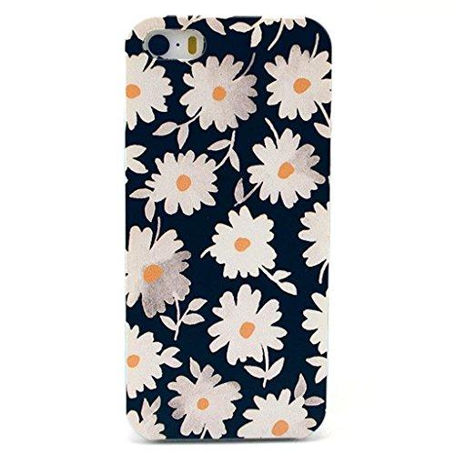 Asmiled Housse Coque etui Case Cover Pour iPhone 5/5S/SE,PC Coque Pour iPhone 5/5S/SE, Hard Plastique Coque pour iPhone 5/5S/SE N7