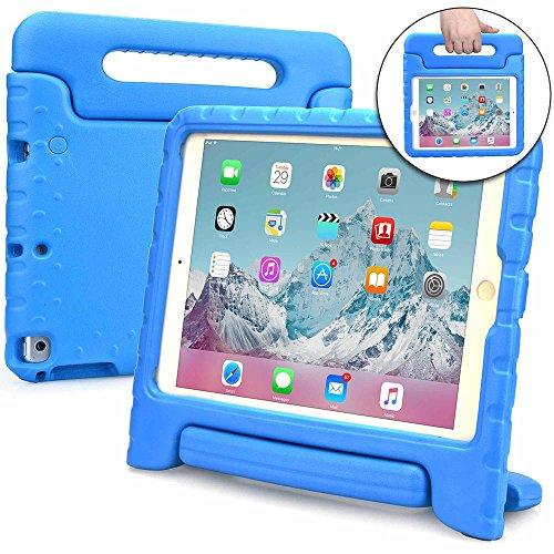 Apple iPad 9.7 New 2017, iPad Air 1 Hülle, [2-in-1 Griffige Tragehülle & Stand] Cooper Dynamo Robuste Strapazierfähige Sturz- und Kindersichere Hülle + Stand -Jungs Mädchen Erwachsene Ältere Blau (Air Hüllen Apple Mädchen Ipad 1 Für)