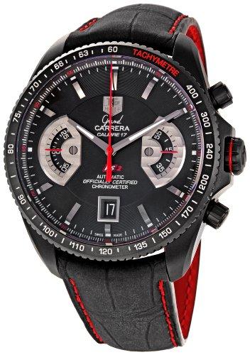 TAG Heuer CAV518B.FC6237 Montre bracelet homme Cuir Noir