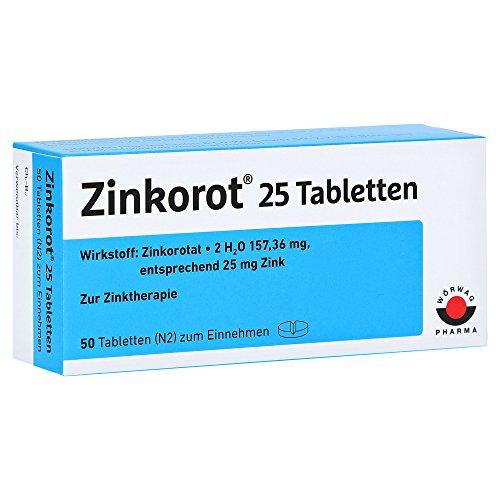 Zinkorot 25 Tabletten, 50 St.