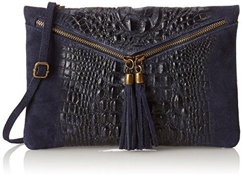 Chicca Borse 10025 Pochette da Giorno, 29 cm, Blu