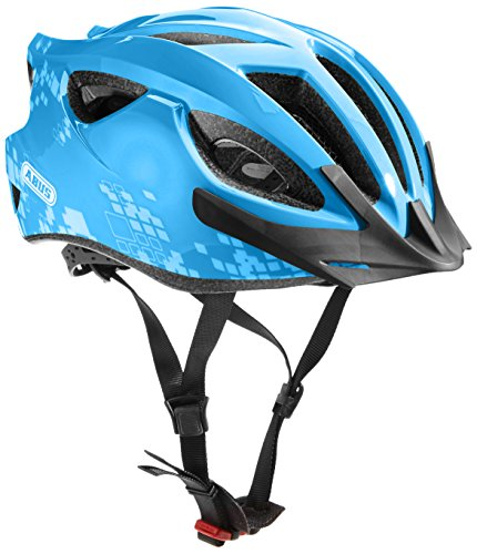 Abus Erwachsene S-Cension Fahrradhelm, Diamond Blue, 54-58 cm