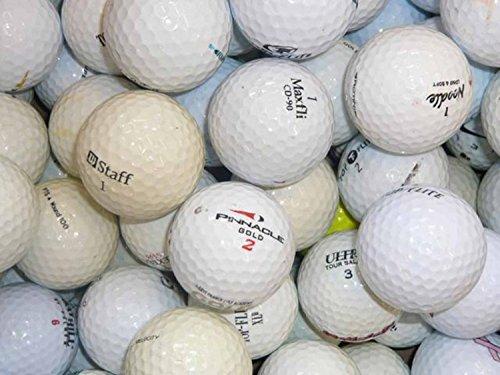 50 gebrauchte Golfbälle (Lakeballs, Markenbälle) -